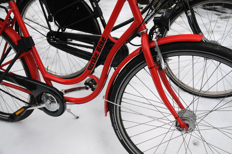 Hire a Bicycle for the Winter