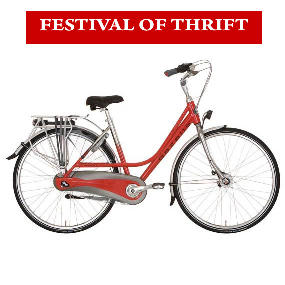 Festival of Thrift Bicycle Hire