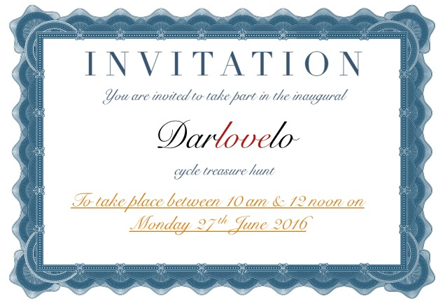 Darlovelo Invitation Treasure Hunt